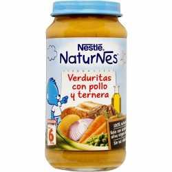 Nestle Potito grande pure Verdura con pollo y ternera 250 gr