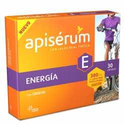 Apiserum Energia Ginseng 30 Capsulas