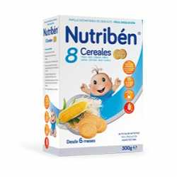 Nutriben 8 Cereales Galleta Maria 300Gr.