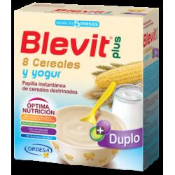 Blevit Plus Duplo 8 Cere/Yogurt 300Gr X2