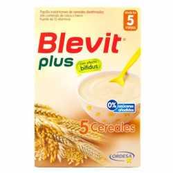 Blevit Plus 5 Cereales Bifidus 600Gr.