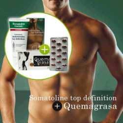SOMATOLINE HOMBRE TOP DEFINITION+QUEMAGRASAS ABDOMINAL