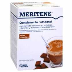 MERITENE BATIDO CHOCOLATE ESTUCHE 15 SOBRES