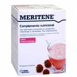 MERITENE BATIDO FRESA ESTUCHE 15 SOBRES