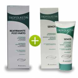 TROFOLASTIN REAFIRMANTE POST-PARTO 200 ML + TROFOLASTIN SENOS 75 ML + TOALLITAS BEBE