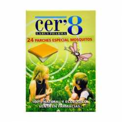 CER´8 24 PARCHES ANTIMOSQUITOS