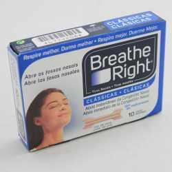 Breathe Right Tira Nasal Pequeña 10 U
