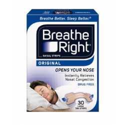 Breathe Right Tira Nasal Pequeña/Mediana 30 uds