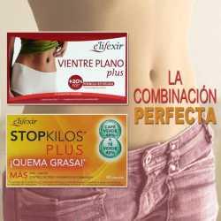 Vientre plano con Quemagrasa Stopkilos Plus y Vientre Plano Plus