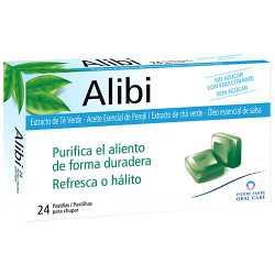Alibi Extracto De Te Verde 24 Pastillas