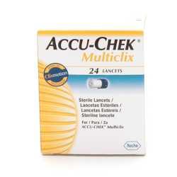 Accu-Chek Multiclix Lancetas 24 uds.