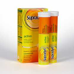 Supradyn Activo 30 Comprimidos Efervescentes