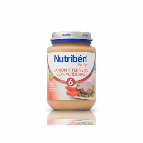 Nutriben Potito Junior Jamon y Ternera con verduras 200 gr