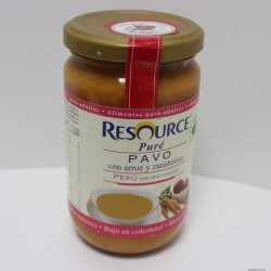 Resource Pure Pavo Arroz Zanahorias 300 gr
