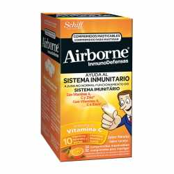 Airborne Inmunodefensas Naranja 32 Comp Masticables