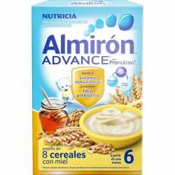Almiron Advance 8 Cereales Miel 500 gr