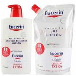 Eucerin Ph5 Locion 1000 ml + 400 ml de regalo