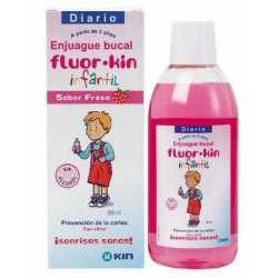 Fluorkin Infantil Enjuague Fresa 500 ml