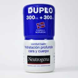 Neutrogena Duplo Comfort Balsamo Hidratación profunda 300 ml