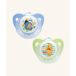 Chupete Nukete T1 Silicona Dia Disney 2 uds