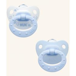 Chupete Nukete T2 Silicona Blue 2Und