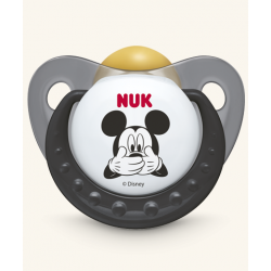 Chupete Nukete T1 Latex Mickey