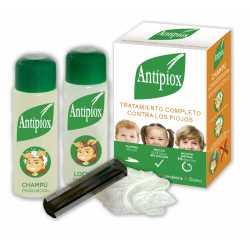Antipiox Pack Locion+Champu+Lendrera