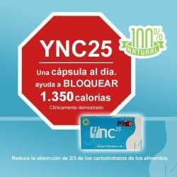 NC YNC 25 BLOQUEDOR DE CALORIAS