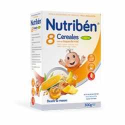 Nutriben 8 Cereales/Miel 4 Frutas 300 Gr