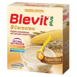Blevit Plus 8 Cereales Superfibra 600Gr.