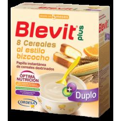 Blevit Plus Duplo 8 Cere/Bizcocho 300X2U