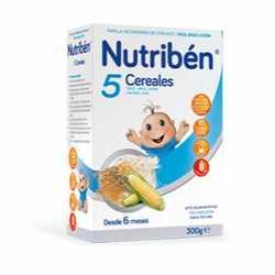 Nutriben 5 Cereales 300 Gr.