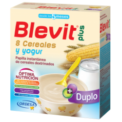Blevit Plus Duplo 8 Cere/Yogurt 300Gr X2