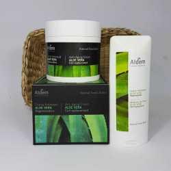 Aldem Crema Antiedad Aloe Vera Regeneradora + Regalo crema hidratante Aloe Vera