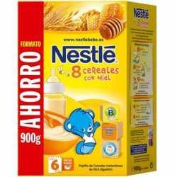 Nestle 8 Cereales Con Miel 900 Gr