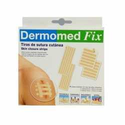 Dermomed Tiras Sutura Cutanea 4 Sobres