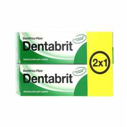 Dentabrit Pasta Dental Fluor 75 ml 2x1
