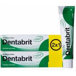 Dentabrit Pasta Dental Fluor 125 ml 2x1