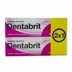 Dentabrit Sensitive Encias 75 ml 2x1