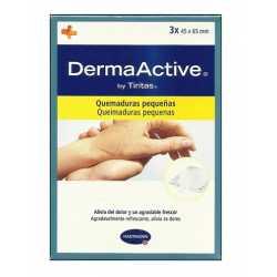 Derma Active By Tiritas Quemaduras Pequeñas 3 uds
