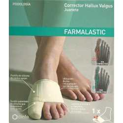 Corrector Juanete Farmalastic T/Med