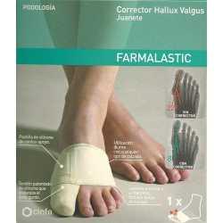 Corrector Juanete Farmalastic T/Gde