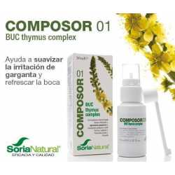 Soria Natural Composor 1 Buc Thymus Complex 30 ml