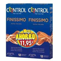 Control Finissimo 12+12 Pack Ahorro