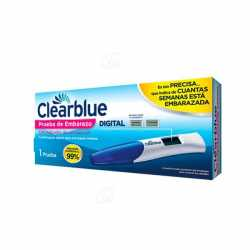 Clearblue Test Embarazo Digital 1 ud