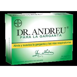 Dr Andreu para la Garganta 24 pastillas para chupar