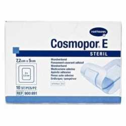 Cosmopor E Steril 7,2X5 Cm. 10 Apositos