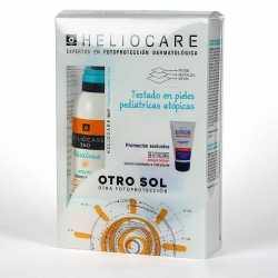 Pack Heliocare 360 Pediatrics Atopic Lotion Spray Spf 50+ 200 ml + Regalo Dermacare Atopic Lotion 100 ml