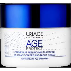 Uriage Age Protect Crema de Noche Peeling Multiaccion 50ml