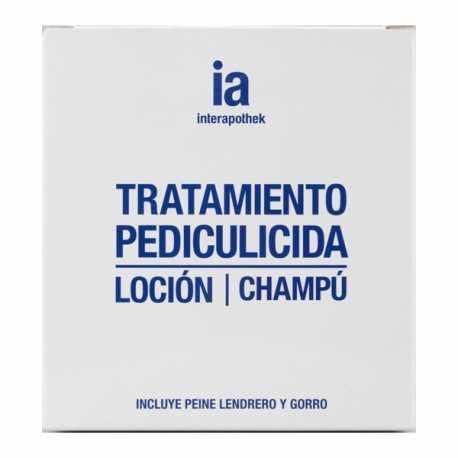 INTERAPOTHEK CHAMPU+LOCION CAPILAR PEDICULICIDA ELIMINA PIOJOS
